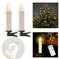90 piezas/PKG blanco cálido sin llama LED lámpara de vela de Navidad boda de Año Nuevo decoración del hogar con control remoto control