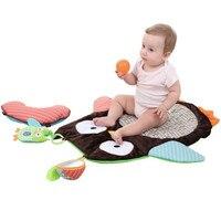 Bebek Baykuş Yatak Kanepe Oyna Mats Çocuk Toddler Battaniye kapak Erkek Kız Gelişmekte Oyuncak Halı tapis lapin Kat Yeni yastık