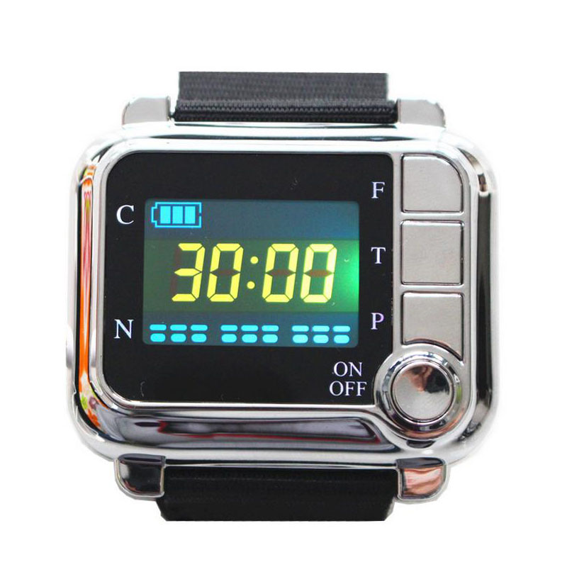 CE Physiotherapy healthcare 650nm laser light /wrist Diode low level laser therapy LLLT for diabetes hypertension treatment diabetes hypertension treatment watch laser sinusitis therapeutic apparatus 650nm laser therapy wrist diode lllt