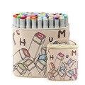 Маркеры Touchmark с двойной головкой  30/40/60/80/168 цветов  спиртовые скетч-маркеры для рисования манги  анимационный дизайн товары для рукоделия