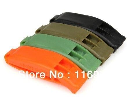 Cheap Outdoor survival whistle Lifesaving whistle Emergency whistle Spot goods
