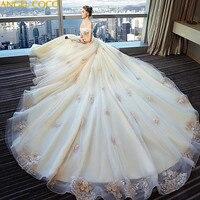Luxury Maternity Wedding Dresses Strapless Puffy Bride Dresses For Pregnant Women Vestidos De Novia Pregnancy Clothes