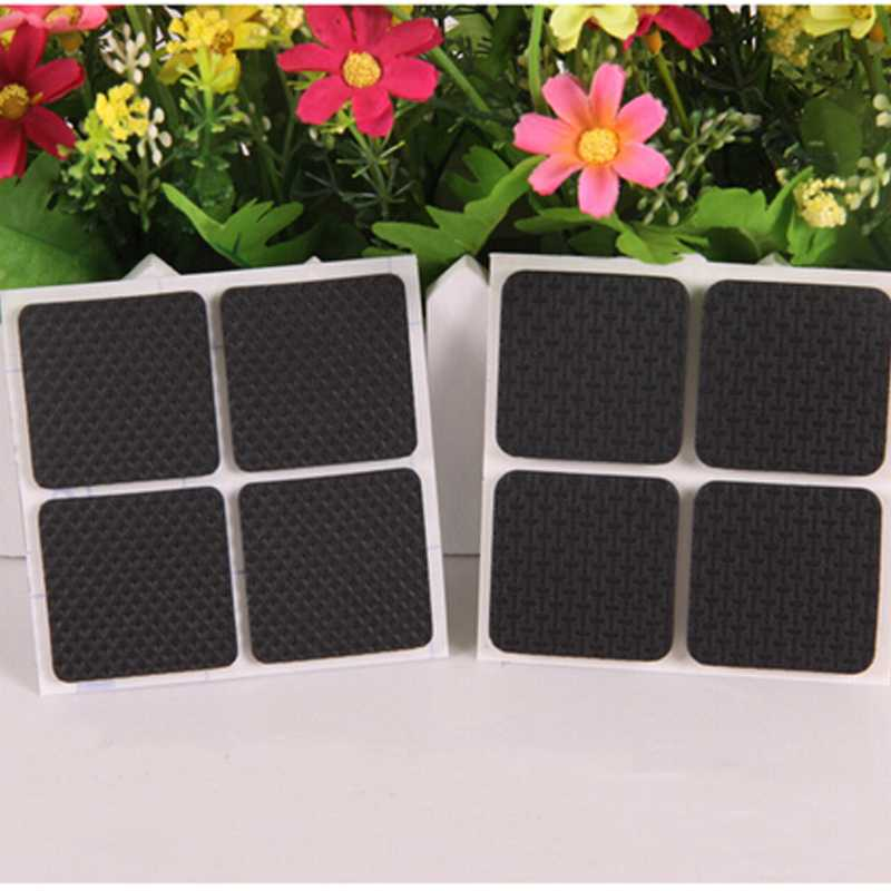 New 4pcs/set Square Skid Resistance Mat Furniture Table Chair Leg Floor Felt Pad Cushion цены