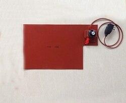 400x500mm 800 W 220 V grzejnik silikonowy ekran LCD Separator z gałka obrotowa termostat