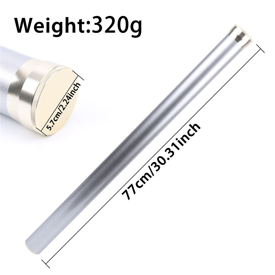 Maximumcatch Aluminium Rod Tube 5 Colour For 9FT 4 Section Fly Rod Fly Fishing Bag maximumcatch fly rod guide set for 9ft 4wt to 10wt fishing rod building titanium or hard chrome 11pcs fly fishing accessory