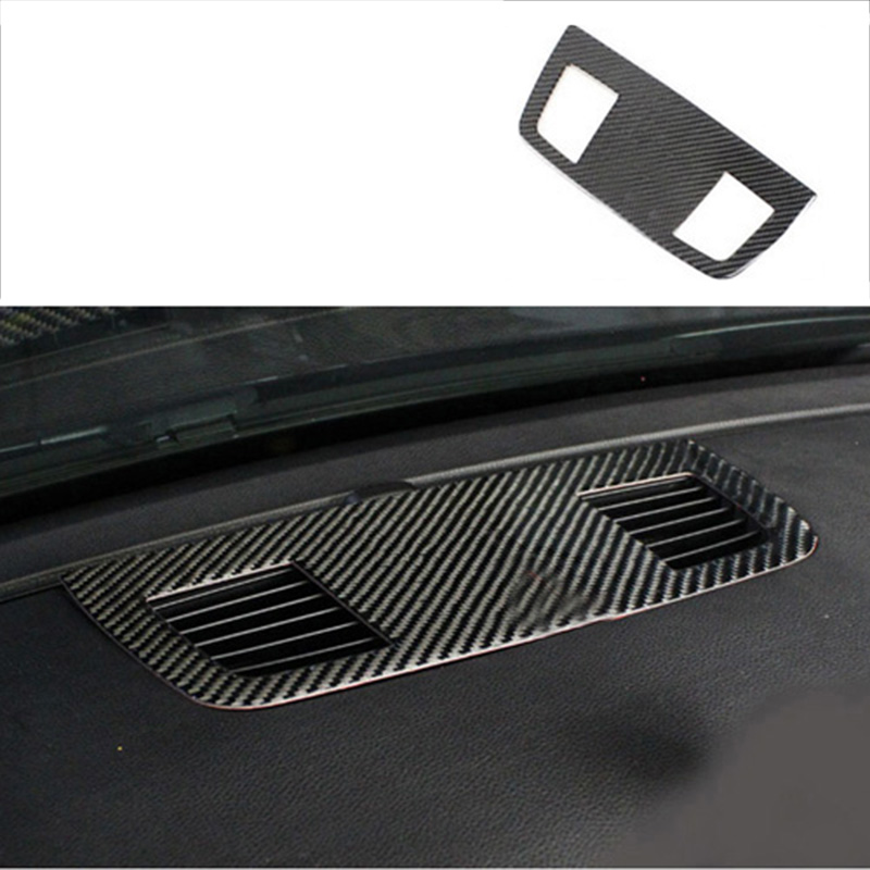 lsrtw2017 carbon fiber car dashboard middle vent trims for bmw 3 series 320 318 316 325 330 335 340 328 e90 e91 e92 e93 in Interior Mouldings from Automobiles Motorcycles