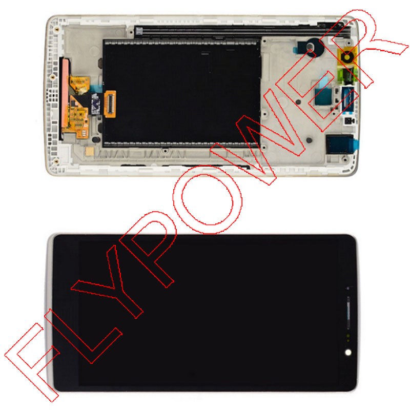 LCD Display + Touch Screen Digitizer Assembly For LG G stylus Ls770 H631 H635 H630 MS631 with Frame by Free Shipping