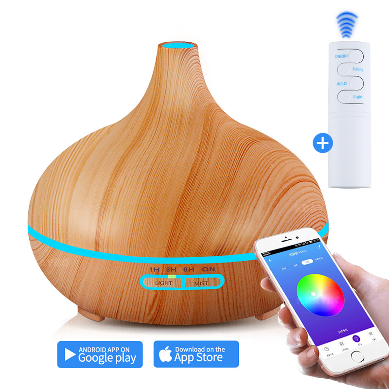 Air Humidifier Essential Oil Diffuser Aroma Lamp Aromatherapy Electric Aroma Diffuser Mist Maker Smart APP Remote ConteolAir Humidifier Essential Oil Diffuser Aroma Lamp Aromatherapy Electric Aroma Diffuser Mist Maker Smart APP Remote Conteol