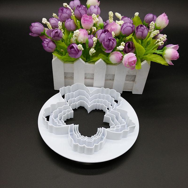 4pcs/set Big Peony Petals Cutter,Gum Paste Flowers Cake Decorating ...