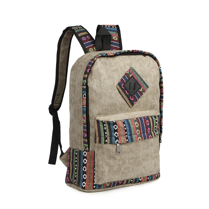 Vintage School Backpack 15