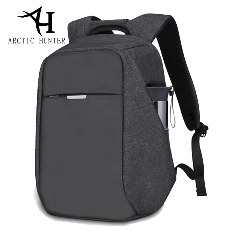 ARCTIC HUNTER 15.6 inch Laptop Backpack men USB Charge Casual Male Anti-theft Backpack School bags For Teenage School Backpack arctic hunter design backpacks men 15 6inch laptop anti theft backpack waterproof bag casual business travel school back pack
