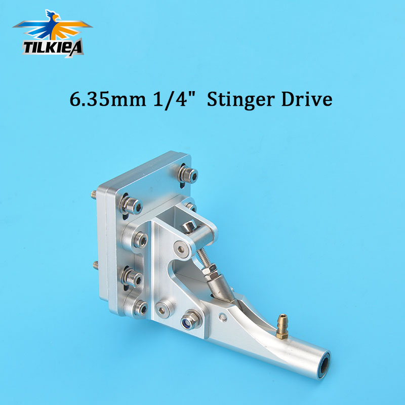 High Quality Adjustable Gasoline Boats Stinger Drive for 6 35mm 1 4 Shaft Flexible cable Axle