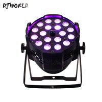 4 шт./лот 18*12 Вт RGBW с переменной фокусировкой светодио дный Par свет в помещении светодио дный Par зум DMX512 для диско DJ проектор стороны машина рож