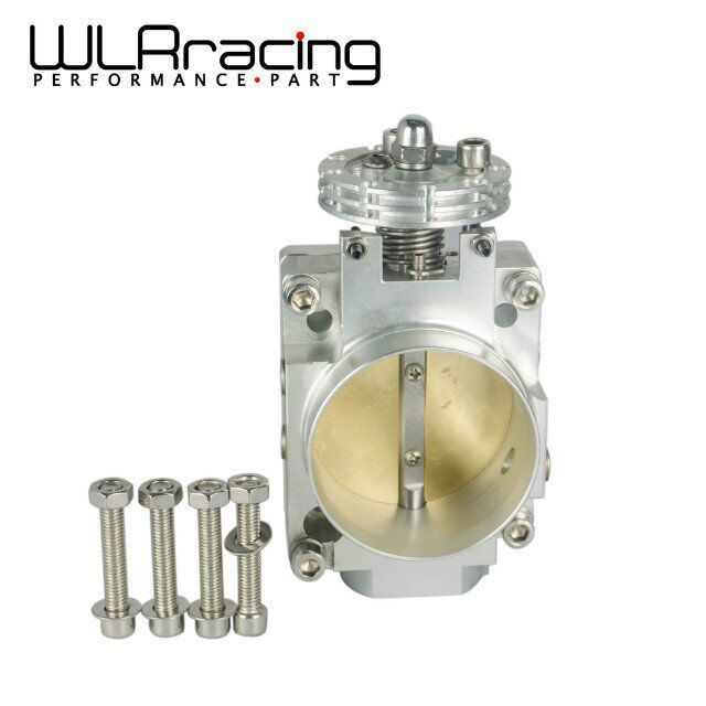 WLR RACING 70mm Intake Throttle Body For Nissan Silvia SR20 S13 S14 S15 SR20DET 200SX 240SX Silver WLR6936