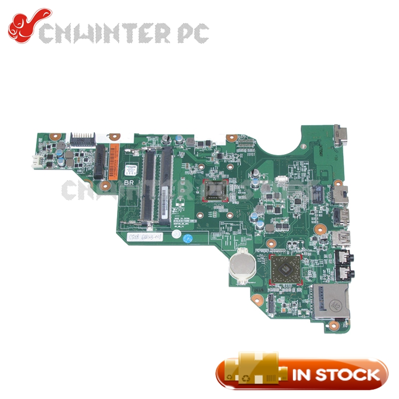 NOKOTION 688303-501 688303-001 MAIN BOARD For HP 2000 Compaq CQ58 Laptop Motherboard E300 cpu DDR3 688303 001 fit for hp 2000 58 655 laptop motherboard ddr3 fully tested working