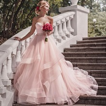 ee463f7936 Buy pink wedding dress and get free shipping on AliExpress.com