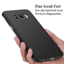 JCDA Brand Shell for Samsung Galaxy S7 edge S8 Plus Note 8 Note5 All Model Matte Hard PC Phone Case Fashion Men Women Shockproof