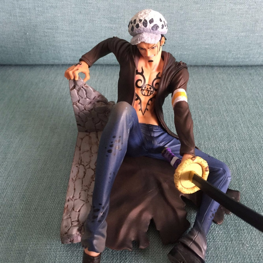 Trafalgar Law Action Figure Front Top View
