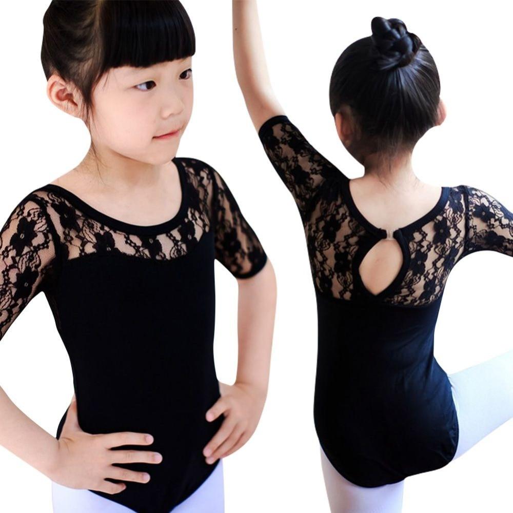 *Girl Dancing Wear Ballet Dress Lantin Dancewear Girls Gym Leotard Lace Performance Bodysuit Professional Ballet Dress Outdoor