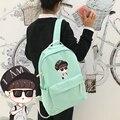 EXO mochila, KRIS, LU HAN, SÍ HUN, BAEK HYUN, CHAN YEOL escuela mochila, bolsa de libros para estudiantes, niños y niñas de vuelta a la escuela, kpop