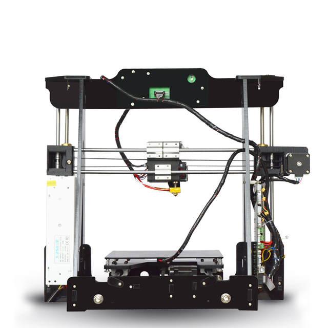 Tronxy 2016 Upgraded Quality High Precision Reprap 3D printer DIY kit P802M  max print size 220*220*240mm