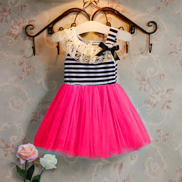 1d6af9d03f99 girls dresses summer 2018 Korean girls lace collar dress Bow candy ...