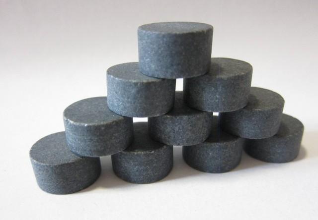 Cylindrical Whisky Stones 6 Pcs Set