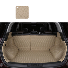 цена на lsrtw2017 leather car trunk mat cargo liner for toyota vios yaris 2013 2014 2015 2016 2017 2018 2019