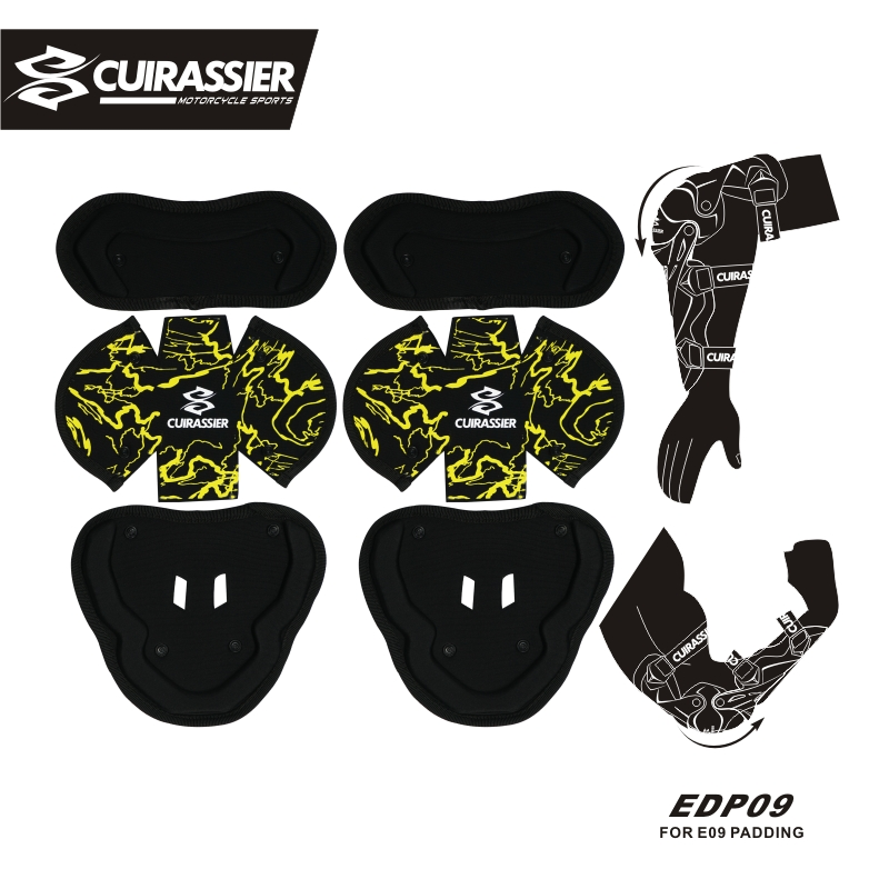 Cuirassier Motorcycle Elbow Pads MX Protector Shin Guards Pads protective Gears Paintbal ...