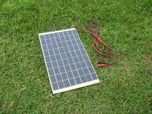 Hot* 10W 12V Portable SOLAR TRICKLE BATTERY CHARGER for car,RV,camp,marine