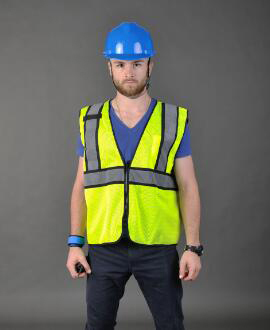 Plus 7 size M-5XL High-grade Safety  Vest Fluorescent Yellow Zipper Pockets Reflective Vest Working Clothes reflective Vest ccgk safety clothing reflective high visibility tops tee quick drying short sleeve working clothes fluorescent yellow workwear