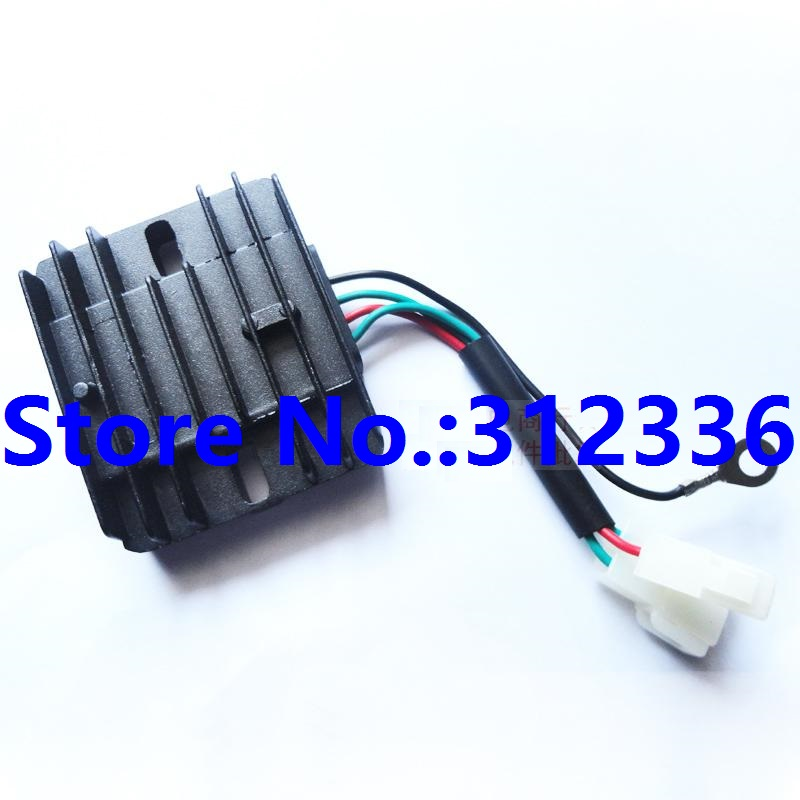 Free shipping High Quality Charge Regulator generator spare parts 178F 186F 186FA suit for kipor Kama