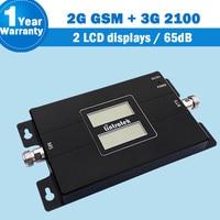 NEW Lintratek 2 LCD Displays 2G 3G 65dB Cellphone Amplifier GSM 900 3G WCDMA 2100 Dual