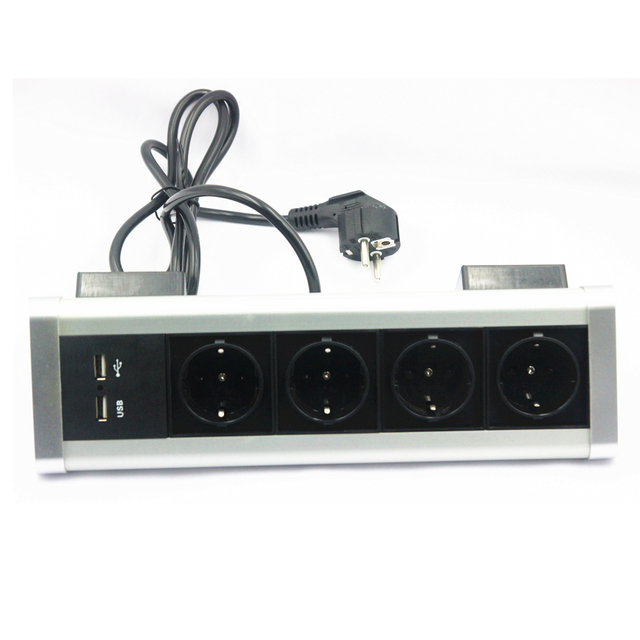 Counter top power strip
