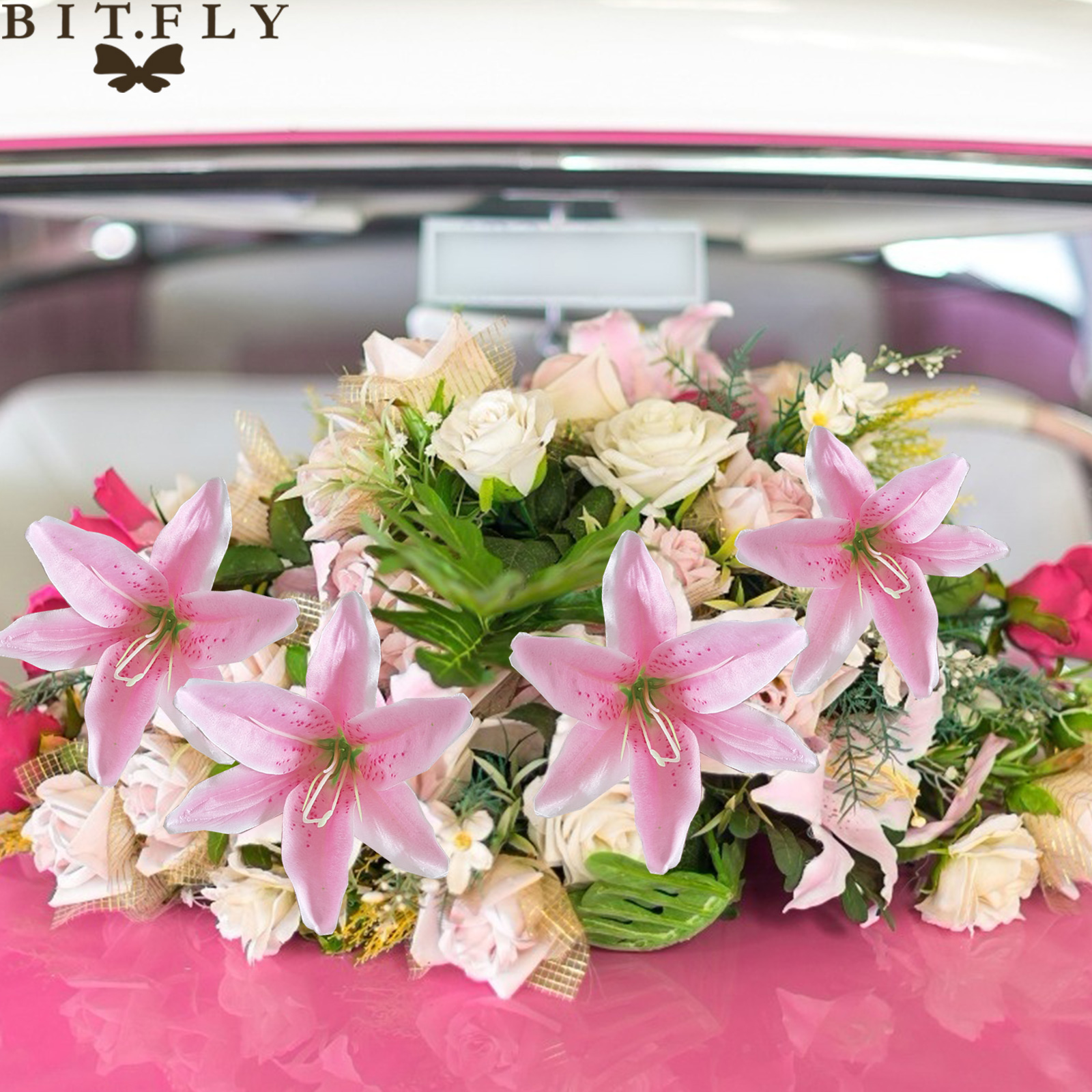 Best Top Artificial Flowers Lily Wedding Dress Ideas And Get Free