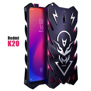 Image 2 - Xiomi Redmi K20 Pro Mi 9T Zimon luxe nouveau Thor robuste armure métal aluminium étui de téléphone pour Xiaomi Redmi K20 Pro K20 étui