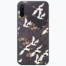 Red-crowned crane tpu case for xiaomi redmi note 7 6 5 pro 5A 4x mi 9 8 A1 A2 cases patterned soft silicon protective back cover kinston patterned rhinestone studded protective soft tpu back case for iphone 6 red multi color