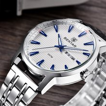 Relojes Hombre Top Brand Luxury Men Watches Men Business Quartz Watch Auto Date Waterproof Clock Relogio Masculino Montre Hombre цена и фото
