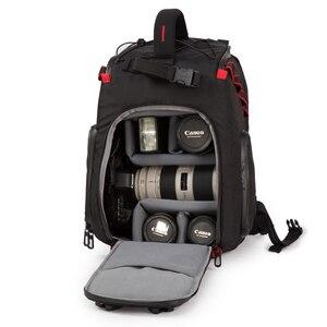 Image 2 - Jealiot сумка для фотоаппарата фоторюкзак рюкзак для фотоаппарата фотосумка чехол сумка для камеры Dslr водонепроницаемый рюкзак для ноутбука цифровой роликовый слинг с чехлом перегородка для Canon Panasonic Nikon Sony