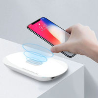 LDNIO PW1003 10000mAh Wireless charger USB Li Polymer Slim Powerbank with output port For Xiaomi iPhone Mobile Phone