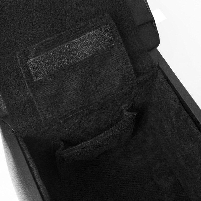 Автоподлокотник RESTIN for SKODA Octavia A7, 2013-, black, ekokozha автоподлокотник restin для skoda octavia a7 2013 черный экокожа шт rest 789021