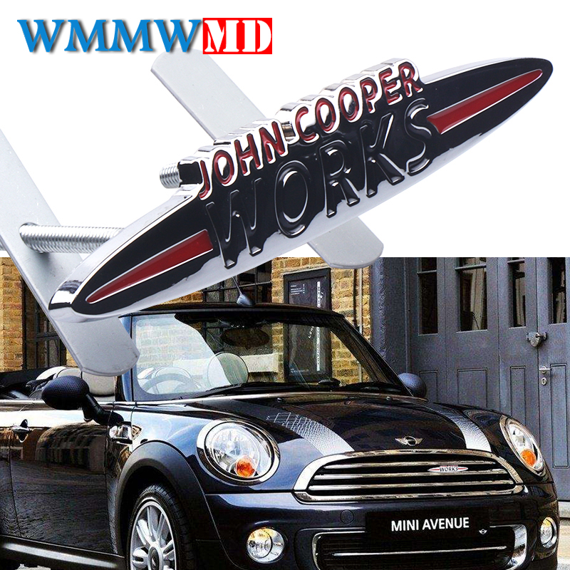 Car Stickers Emblem Badge For Mini Cooper S John Cooper Works R50 R52 R53 R55 R56 R57 R58 R59 R60 R61 F55 F56 Clubman Countryman-in Car Stickers from Automobiles & Motorcycles