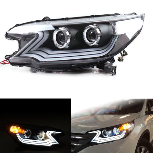 Headlights For Honda CR-V 2012-2014 With Glass Lens And Xenon ranenye v nikolaevke 04 07 2014