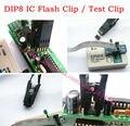 DIP8 IC Clipe de teste IC flash clip Para BIOS 93/25/24 SOIC8 IC SOP8 Test Clip TL866CS TL866A EZP2010 RT809F Programador EZP2013 Uso