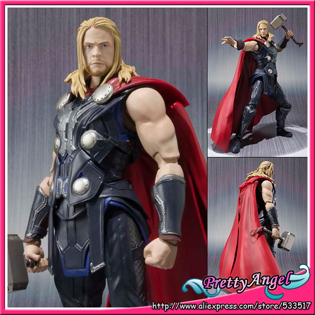 PrettyAngel - Genuine Bandai S.H.Figuarts Marvel Avengers Age of Ultron Thor Action Figure