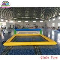 Гигантские надувные aqua спортивные игры в волейбол надувные для пляжного волейбола для детей и взрослых