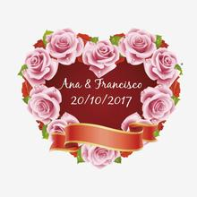 100pcs Personalized Wedding Stickers Customize Stickers Wedding Engagement anniversary Party Beauty Package Labels supplies Boda