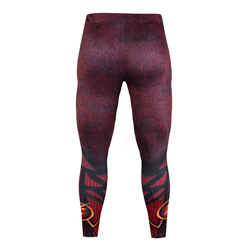 Fitness Mens Lightning Compression Long Sleeve Leggings Foundation Layer Crossfit Brand Quick drying T shirt Clothing MMA Spot in Men 39 s Sets from Men 39 s Clothing