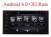 3G/4G Android 6.0 2 DIN Corolla RAV4 Camry Coche DVD GPS para Toyota Terios Yaris Vieja radio Universal wifi Capacitivo 1024*600 RDS