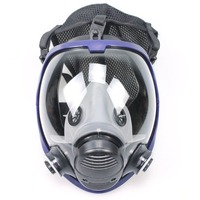 6800 body Gas Mask no filter dust Respirator Paint Pesticide Spray Silicone cartridge welding Chemical mask Support 3M filter